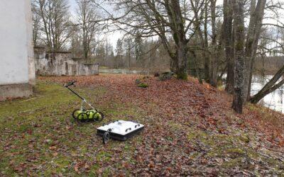 Maa-aluste rajatiste uuring Maidla mõisas