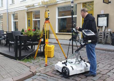 Georadariuuring Pikal tänaval Tallinnas
