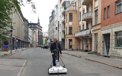Roosikrantsi tänava uuring Raptor 3D radariga